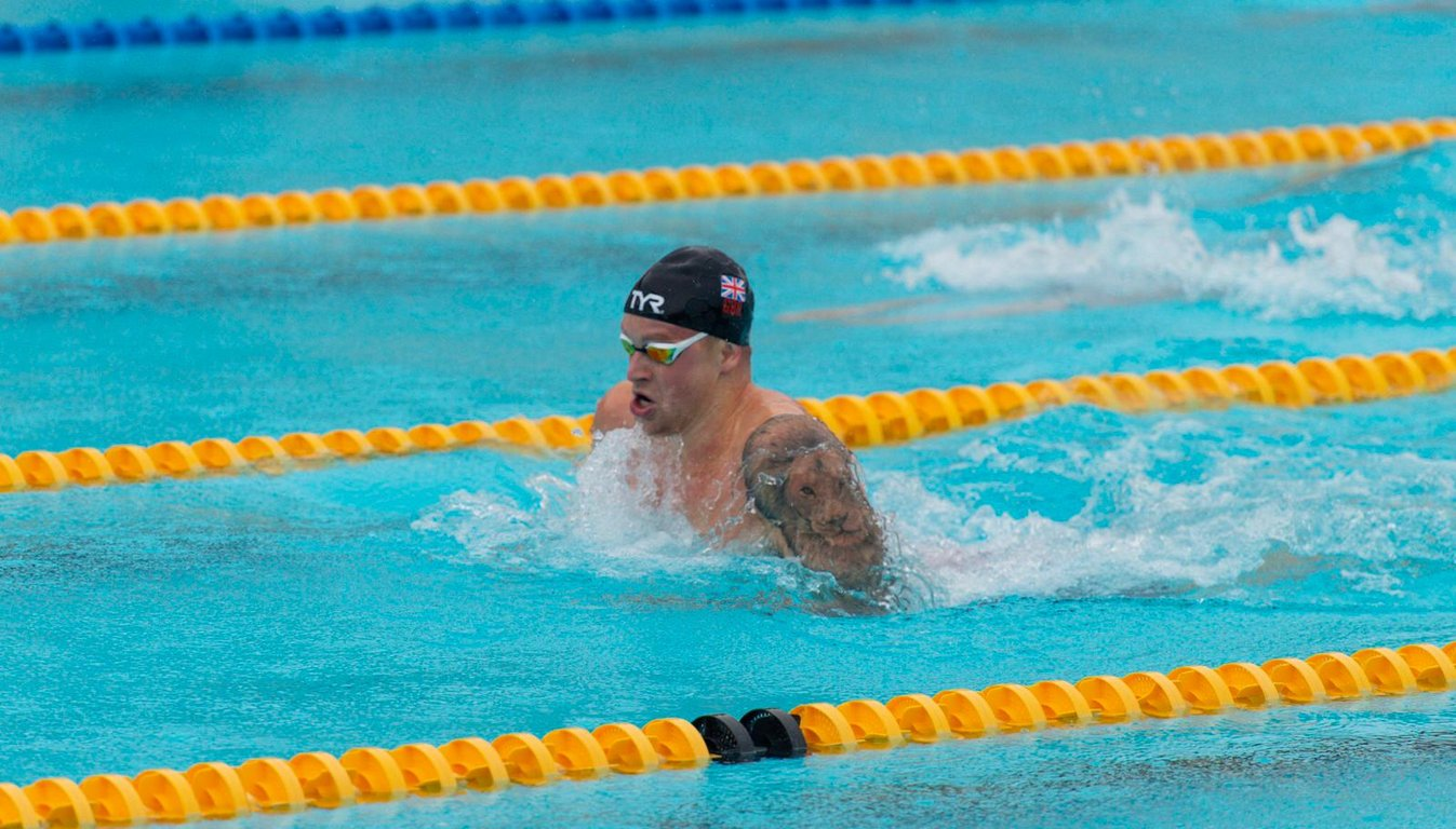 Peaty breaks Mare Nostrum record to edge out Wilby