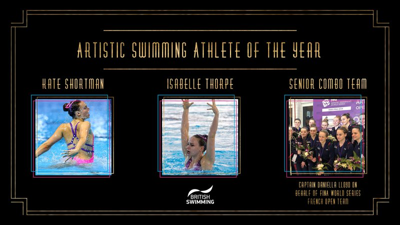 BSAwards19 Artistic Swimming Athlete Shortlist