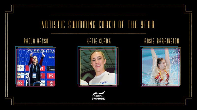BSAwards19 Artistic Swimming Coach Shortlist