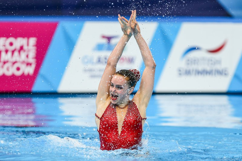 Kate Shortman Glasgow 2018 Synchro