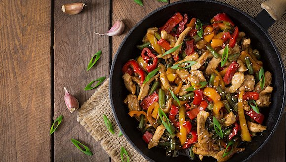 Fuel My Friday: Siobhan's Zingy Stir Fry
