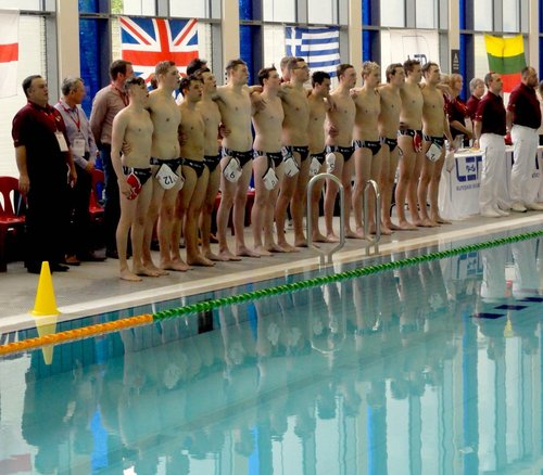 GB U19s Water Polo - Men