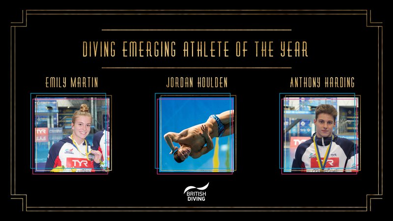 BSAwards19 Diving Emerging Athlete of the year