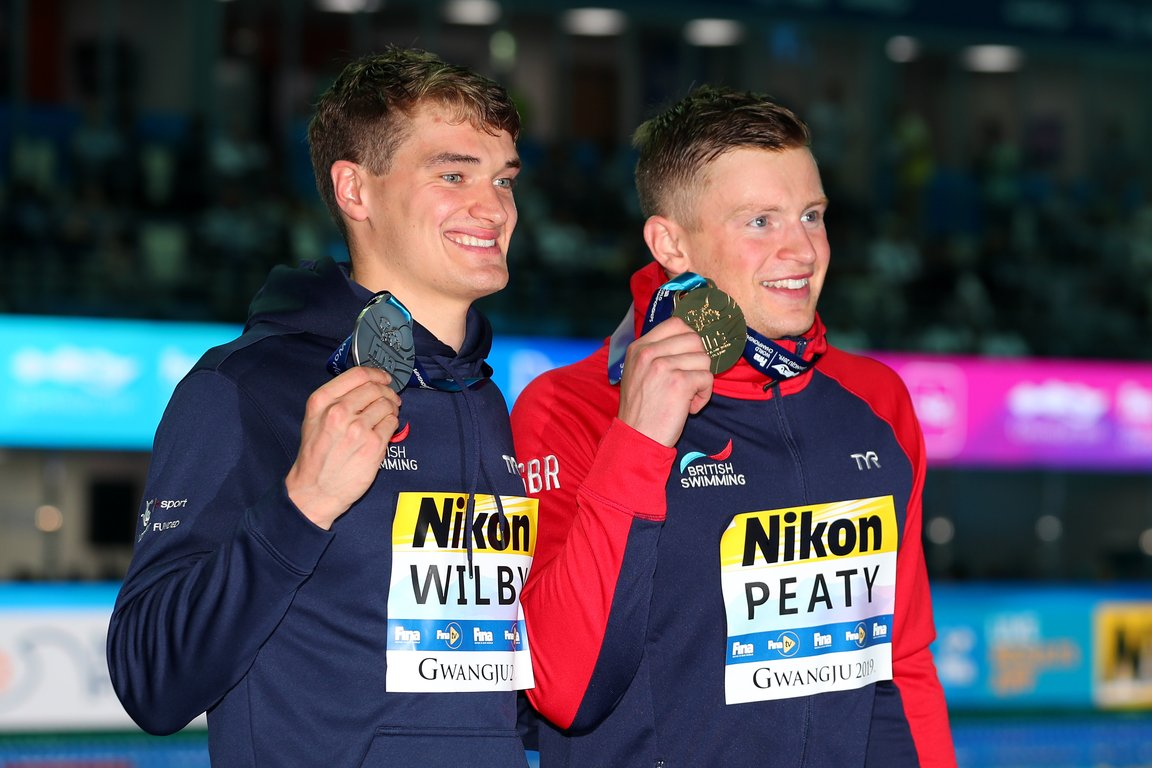Peaty and Wilby seal World Championship one-two