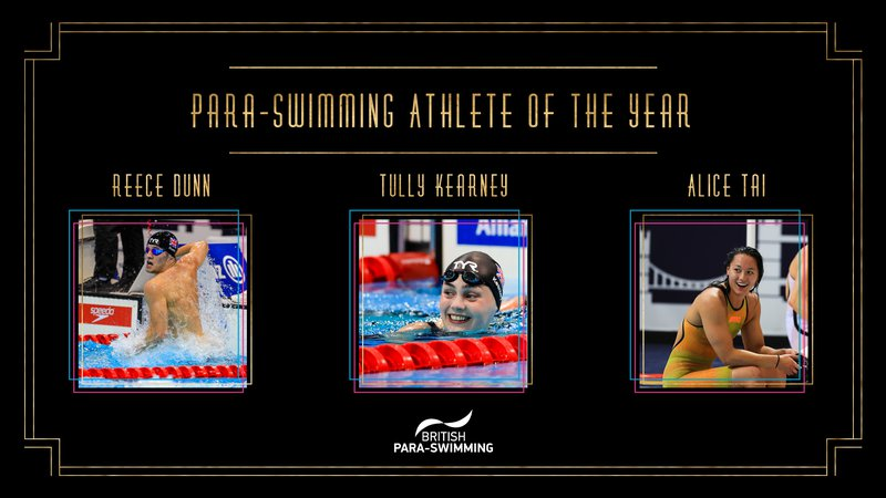 BSAwards19 Para-Swimming Athlete Shortlist