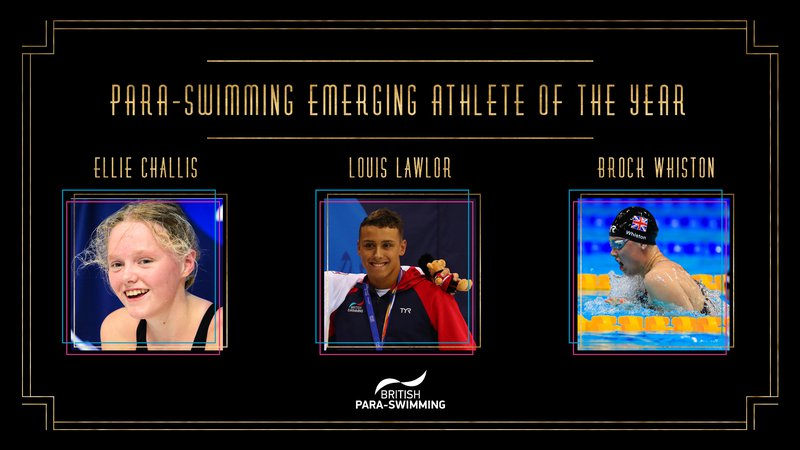 BSAwards19 Para-swimming Emerging Athlete of the year