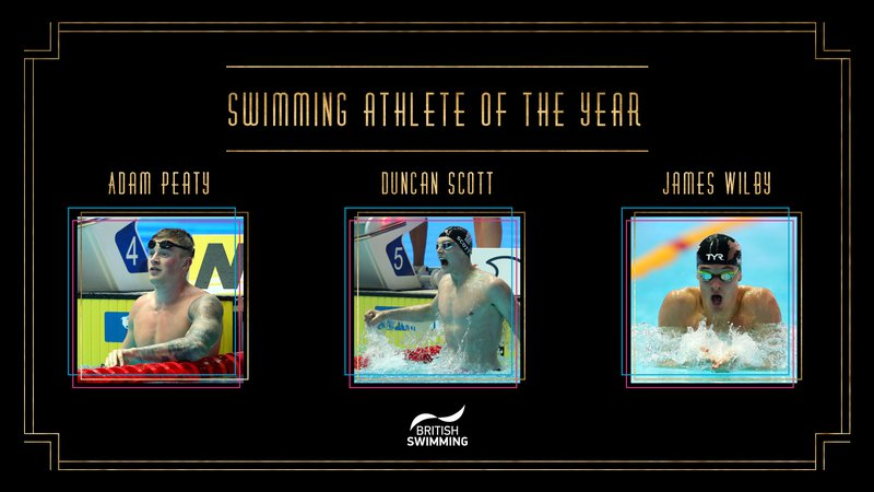 BSAwards19 Swimming Athlete Shortlist