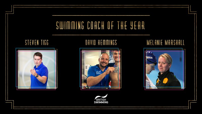 BSAwards19 Swimming Coach Shortlist