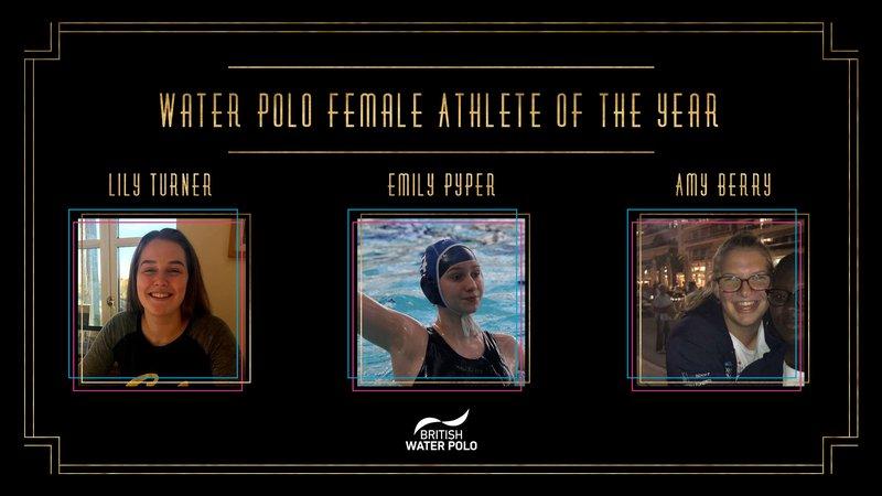 BSAwards19 Female water polo Athlete Shortlist