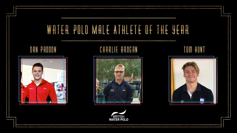 BSAwards19 Male water polo Athlete Shortlist