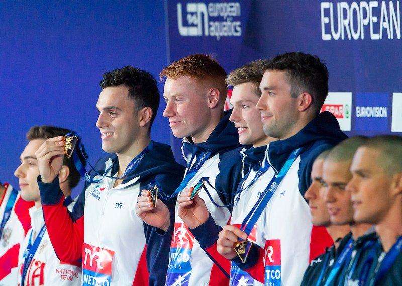 4 x 200m relay Glasgow 2018