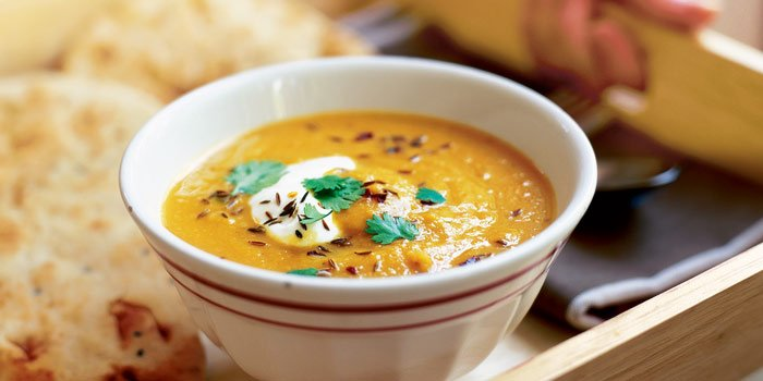 Fuel My Friday: Simmonds' stress relieving spiced carrot soup