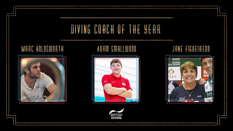 BSAwards19 Diving Coach Shortlist