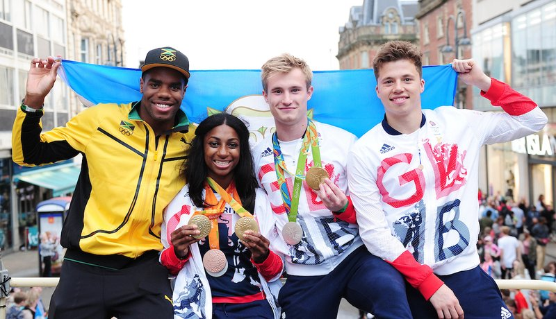 Jack Laugher Yona Knight Wisdom Freddie Woodward