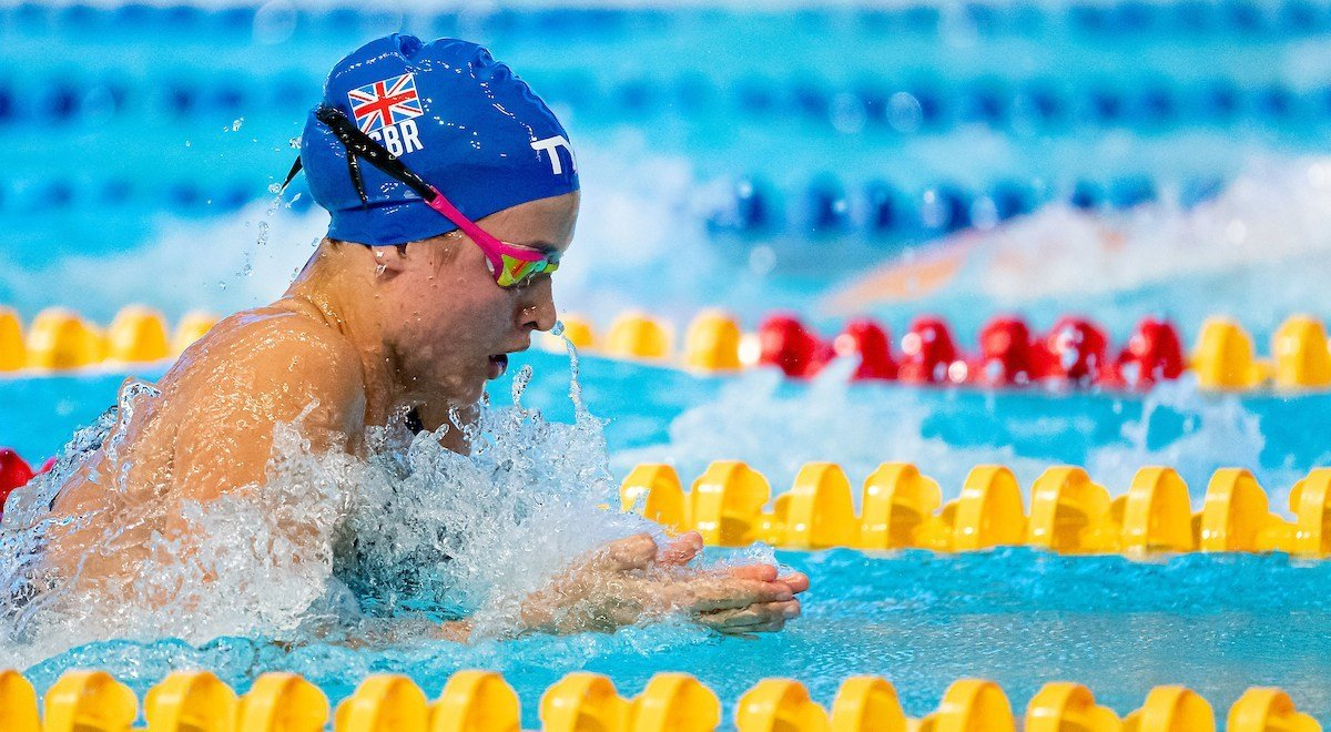 Breaststroke Bronze for Young Brit